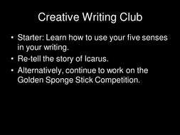 Story-of-Icarus-creative-writing-club.ppt