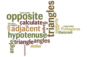 Maths KS3 and KS4 - trigonometry of right-angled triangles. Everything to get started!