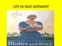 Life in Nazi Germany Source Analysis and Extended Writing Lessons