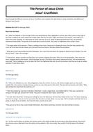 NEW SPEC GCSE AQA, Beliefs about Jesus (3)- Beliefs and Practices