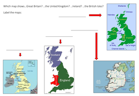 Map Of Ireland Uk.Map Activity Great Britain The Uk Ireland Or The British Isles