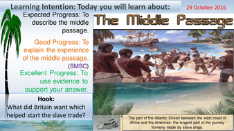 what year did the middle passage start