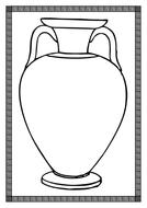 Greek Vase Template