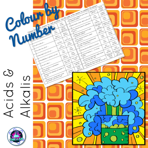 Acids & Alkalis Colour-by-Number