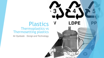 Plastics: Thermoplastics vs Thermosetting plastics