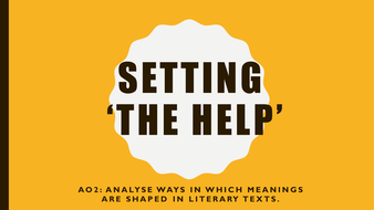 Setting-in--The-Help-.pptx