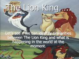 The Lion King and Refugees