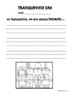 Thanksgiving Activity Packet (Math & Literacy)