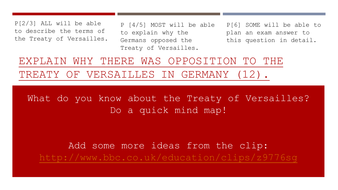 why was the treaty of versailles so unpopular in germany