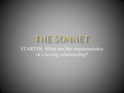 The-Sonnet.pptx
