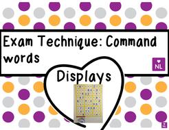 FREE Exam Command Words (Display)