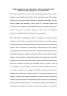 PGCE Masters essay - Using assessment to raise achievement in MFL by ...
