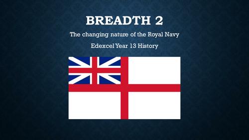 Year 13 - Unit 3: British Empire - British Navy Breadth study