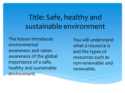 safe--healthy-and-sustainable-environment.pptx