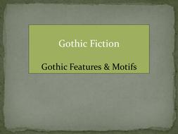 Gothic Fiction: Gothic Motifs