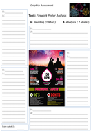 Firework safety poster analysis task