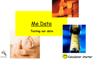 Data Collection - Use students data to calculate averages and draw scatter graphs