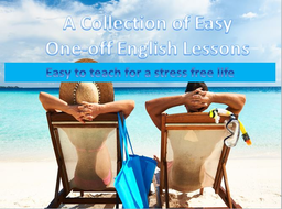 A Collection of Easy One-Off English Lessons