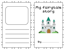 Fairy Tale Story Writing Template Booklet By Mooncat6 Teaching