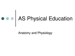 A Level PE - Movement Analysis