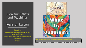 Judaism-beliefs-and-teachings-revision-lesson.pptx