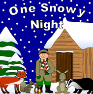 One Snowy night- Percy the Park Keeper story resource pack- winter