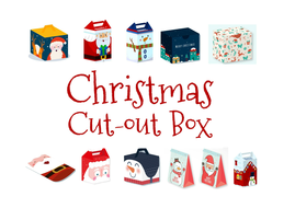 Christmas Cut Out Boxesdocx