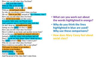 The Class Game Mary Casey Gcse Poetry 9 1