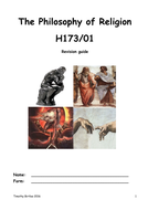 New AS level Religious Studies - The Philosophy of Religion for OCR revision guide - H173/01