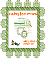 Leaping Leprechauns: Adding With a Number Line
