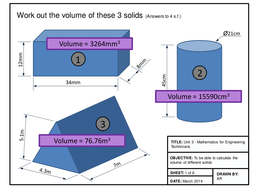 Maths for Engineers - Volume
