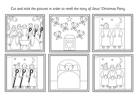 Jesus' Christmas Party story resource pack- nativity by