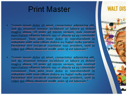 Walt disney powerpoint template by templatesvisioncom teaching walt disney powerpointtemplate 3g toneelgroepblik Gallery