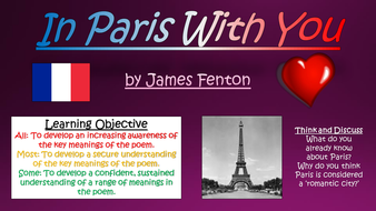 In paris with you james fenton love and relationships poetry by in paris with you james fenton love and relationships poetry stopboris Images