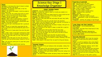 Science Knowledge Organiser (Key Stage 1 & 2) by oisin76 ...