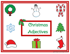Christmas Adjectives by pimentm | Teaching Resources