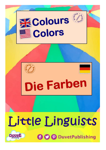 English > German: Numbers & Colours Vocabulary Books