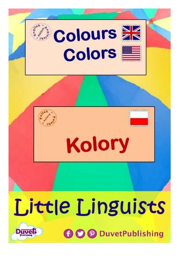 English > Polish: Numbers & Colours Vocabulary Books