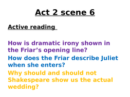romeo and juliet opening lines