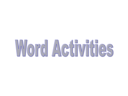 word-ladder-and-etc.ppt