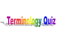 Terminology quiz for A level English Language or Language and Literature