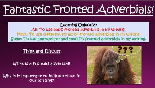 Fantastic Fronted Adverbials!