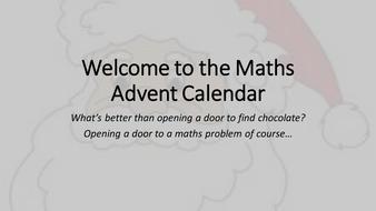 Maths-Advent-Calendar.pptx