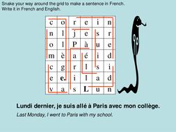 The Perfect Tense with 'être'. p. 34 - Studio book 2; Module 2; Paris, je t'adore!