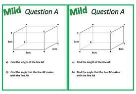 3D Trigonometry (SOHCAHTOA)