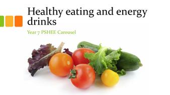 Healthy eating & Energy Drinks