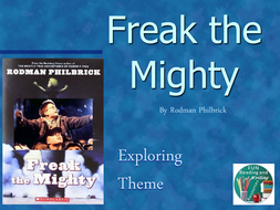 Freak the Mighty - Exploring Theme