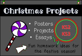 Digital Christmas Task Cards for KS2/KS3
