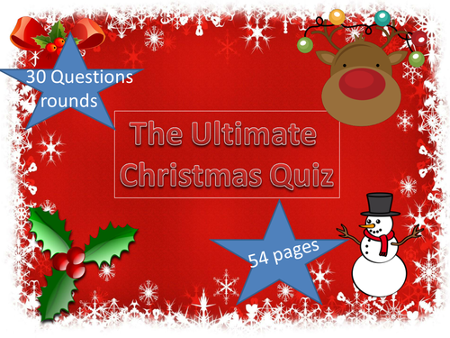 The Fun Christmas Quiz
