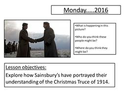 Analysis of Sainsbury's Christmas Advert- The Christmas Truce
